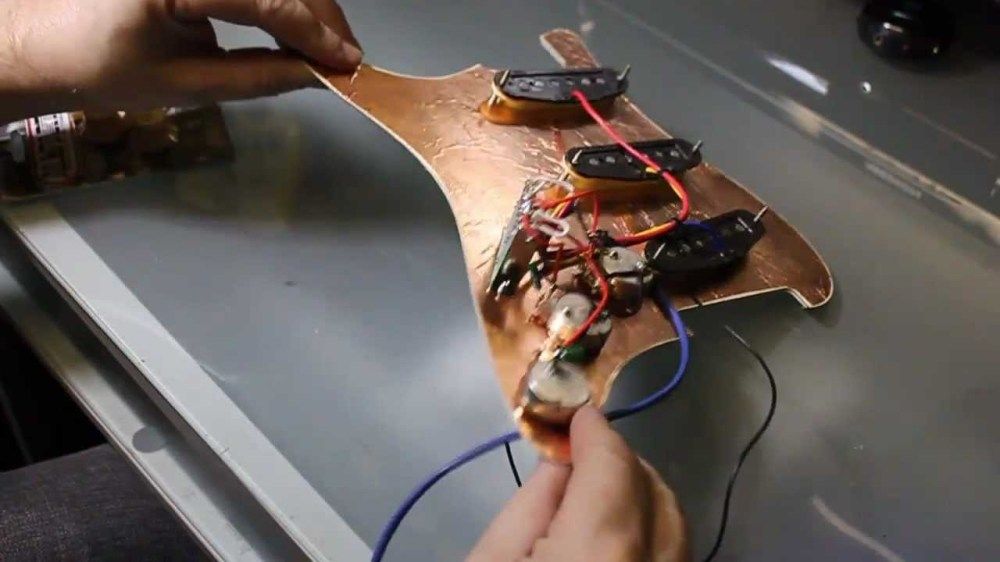 medium resolution of wiring a fender stratocaster fitting pickups and volume and tone