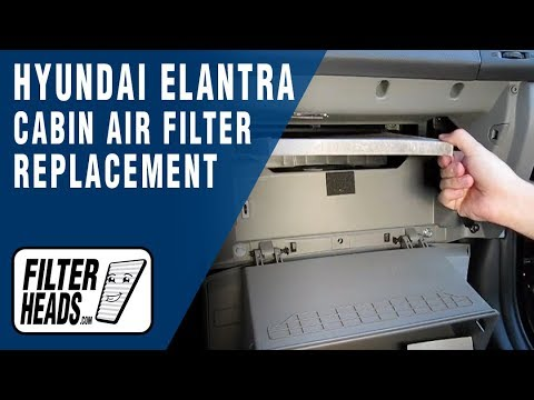 2003 Hyundai Getz Wiring Diagram Cabin Air Filter Replacement Hyundai Elantra Youtube