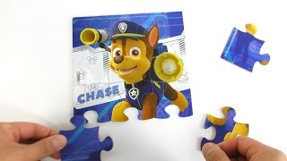 PAW Patrol Puzzles compilation for kids