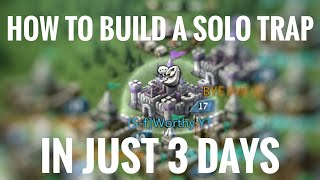 How To Build A Solo Trap - Lords Mobile