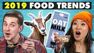 College Kids Try 2019's Biggest Food Trends   College Kids Vs. Food