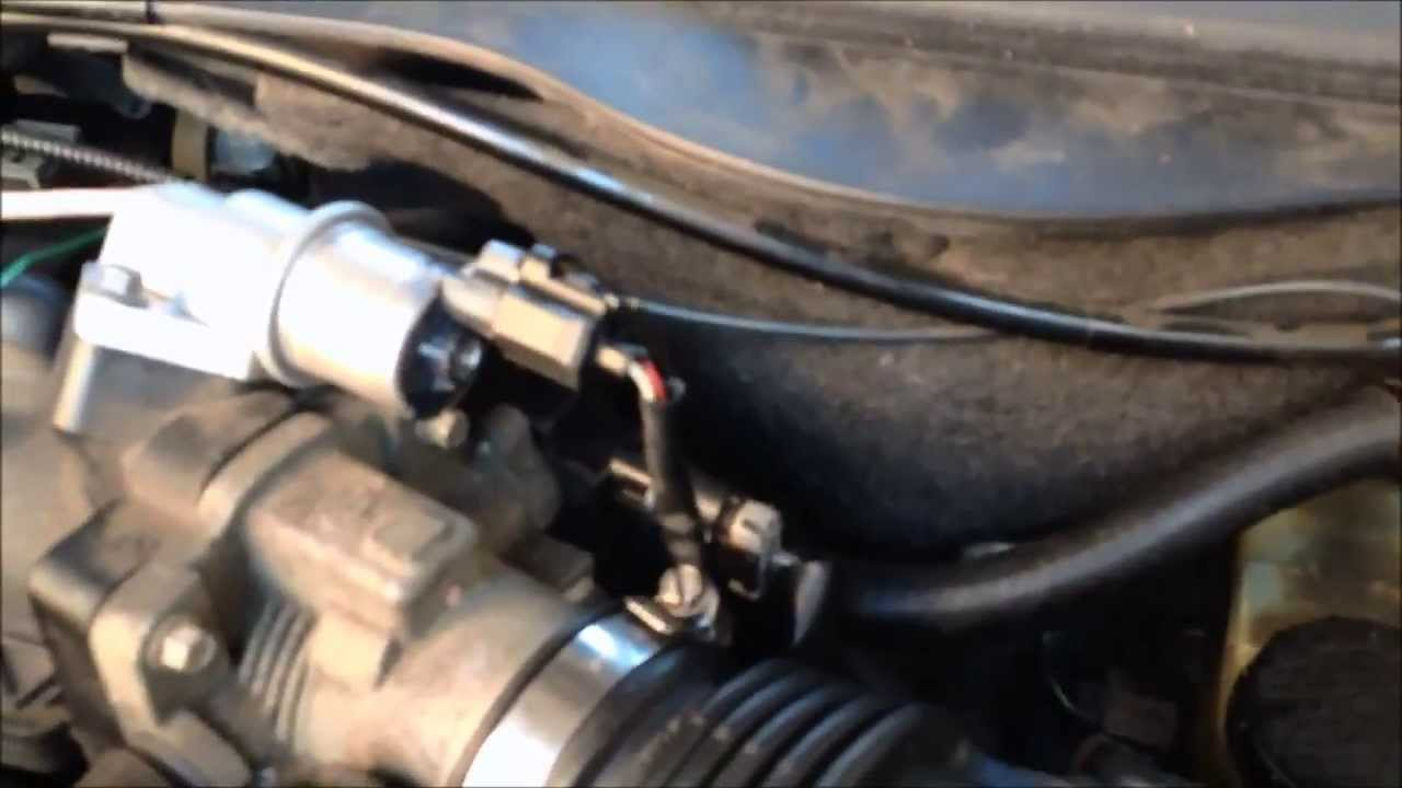 2004 Ford E250 Fuse Diagram Fixing Idling Problem Throttle Position Sensor Replacement
