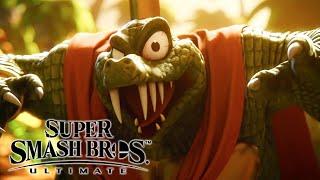 Super Smash Bros. Ultimate - King K. Rool Reveal Trailer