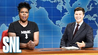 Weekend Update: Leslie Jones on Alabama's Abortion Ban - SNL