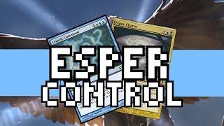 Modern Esper Control - Draw-Go Gameplay vs Burn, Eldrazi Tron