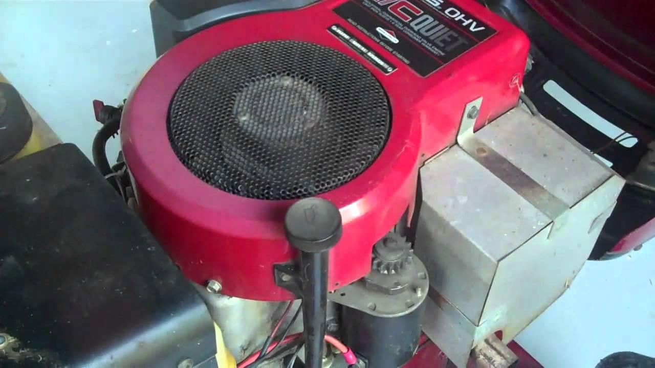 11 Hp Briggs And Stratton Engine Wiring Diagram Starting Problems 14 5hp Ohv Briggs Amp Stratton Help