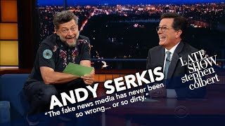 Andy Serkis Becomes Gollum To Read Trump's Tweets