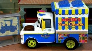Ice Cream Truck Mater Cars 2 Chase Edition