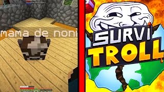 UN TROLL MATA A MI MADRE | SurviTroll Ep.8 Minecraft Serie de Mods Troll