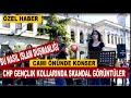 CHP'liler Camii Önünde Konser Verdi