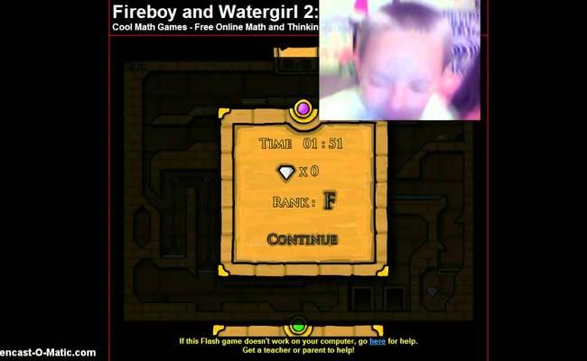 Fireboy Watergirl Cool Math Games Youtube