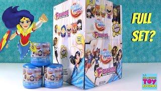 DC Super Hero Girls Fashems Series 1 Full Set Squishy Toy Unboxing | PSToyReviews