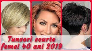 20 Modele Tunsori Scurte Femei 40 Ani 2019 Free Download Video