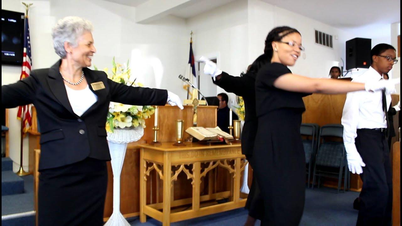 Calvary Baptist Church Usher Day 2012 March