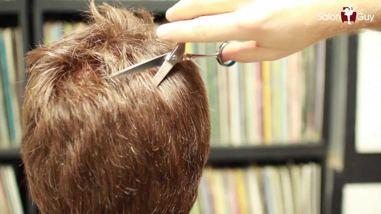 How To Thin Out Thick Hair Haircutting Techniques YouTube