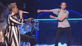 Meet the Dancing 'Backpack Kid' Who Stole Katy Perry's Spotlight on 'SNL'