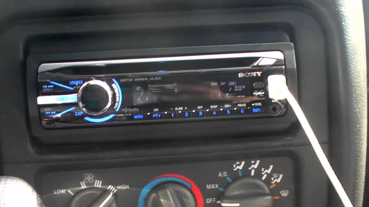 Sony Xplod Cdx Gt07 Wiring Diagram Stereo Fw700