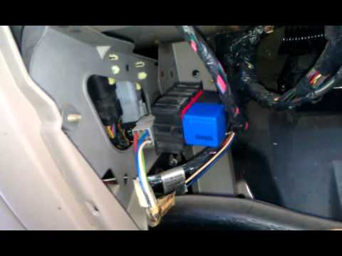 99 F550 Fuse Diagram How To Change A Signal Or Flasher Relay On A 2000 Ford