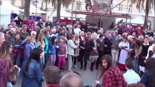 Sassari ballo sardo in piazza d Italia