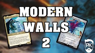 MTG Modern Wall Aggro/Combo - with Arcades The Strategist
