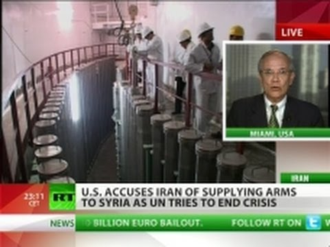 Iran supplying arms to Syria