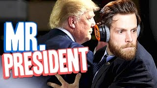 MR. PRESIDENT GAMEPLAY | Indie Bodyguard Simulator Trump Parody Game