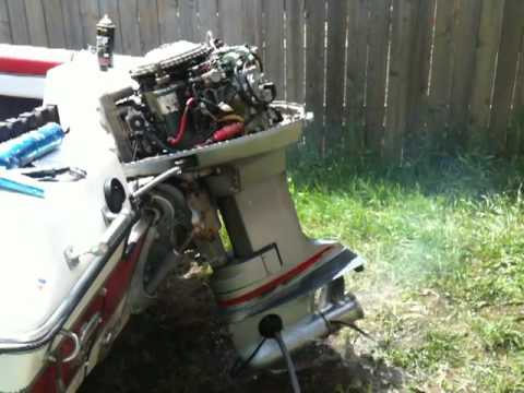 Hp Wiring Diagram 1974 Evinrude 115 Runs Poorly And Misfires Youtube