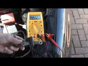 Testing Crankshaft Position Sensor CPS Inductive  YouTube