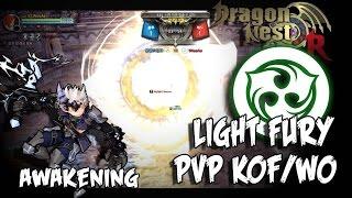 Dragon Nest PvP KOF/WO - Awakening Light Fury vs Ray Mechanic,Sting Breezer, Windwalker, Artillery