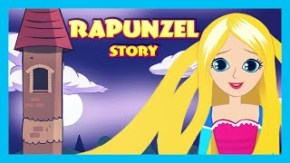 RAPUNZEL English Kids Story Animation   Fairy Tales and Bedtime Stories - Full Story