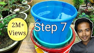 How to make cement pot / planter under 20 rupees