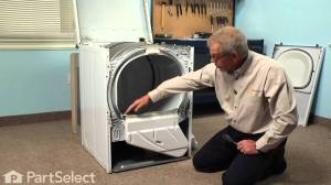 Dryer Repair Replacing the Lint Duct Assembly (Whirlpool Part # 37001141)  YouTube