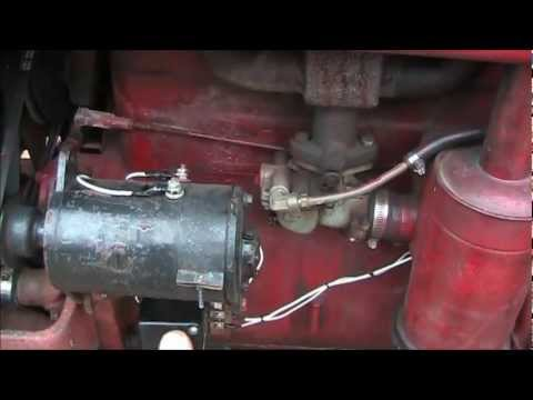 Ford 3000 Tractor Wiring Harness Diagram Polarizing Your Delco Remy Generator On A Farmall A B C Sa