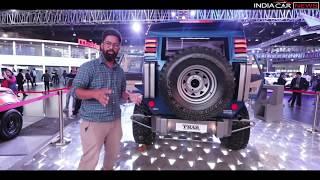 Modified Mahindra Thar Wanderlust First Look - Auto Expo 2018