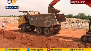 Dindi lift irrigation project Works Are in Full Swing   Nalgonda