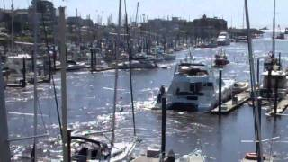 Santa Cruz Harbor Tsunami 3/11/11