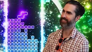 A 1989 TETRIS Expert Plays TETRIS EFFECT for the First Time
