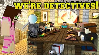 Minecraft: WE BECOME DETECTIVES!!! - THE FAMILY TREASURE - Custom Map