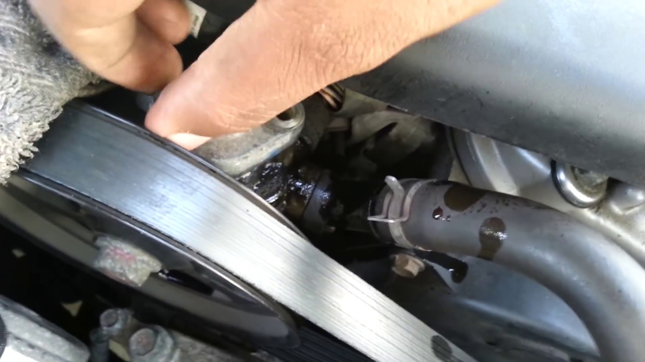 Power Steering Pump Leak