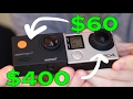 $60(50€) Action Camera vs. GoPro Hero 4! (With Test Footage!)