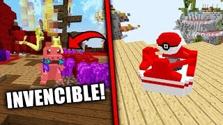 NOS ENFRENTAMOS A UN POKEMON INVENCIBLE!! | (Minecraft POKEWARS)