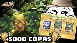 ¡¡COFRE TROLL SELVÁTICO EXTREMO!! Lo más épico en +5000 trofeos | Clash Royale | TheAlvaro845
