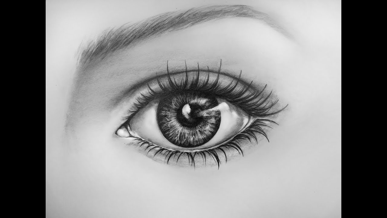 How To Draw An Eye Time Lapse  Learn To Draw a Realistic