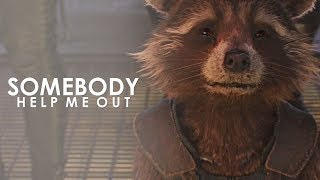 Rocket Raccoon | Somebody Help Me Out