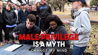 Male Privilege Is A Myth (2nd Edition)   Change My Mind