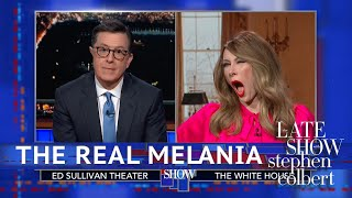 Melania Trump Denies Using A 'Fake Melania'