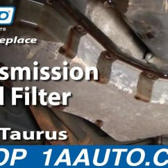 2003 Ford Taurus Parts Diagram Ge Oven Wiring How To Service Transmission Fluid Filter V6 00-07 - 1aauto.com Youtube