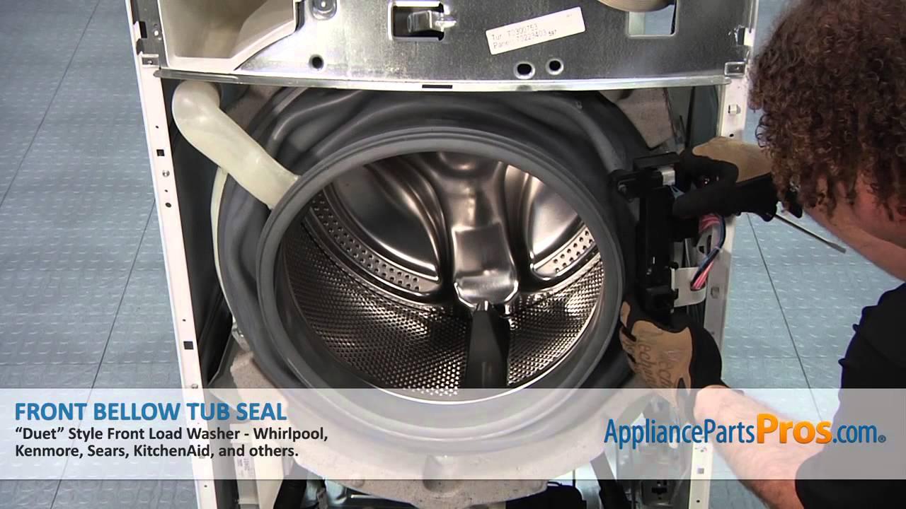 Whirlpool Washing Machine Parts Diagram