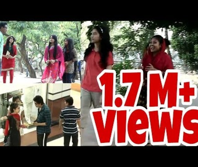 New Funny Video Bengali Prank Video When Cute Girls Calling Aunty
