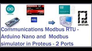 Communications Modbus RTU - Arduino Nano and Modbus simulator in